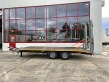 Möslein heavy equipment transport trailer 13 t Tandemtieflader-- Wenig benutzt --
