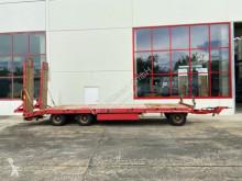 Möslein heavy equipment transport trailer 3 Achs Tiefladeranhänger mit gerader Ladefläche