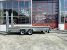 Möslein heavy equipment transport trailer Tandemtieflader5,50 m x 2 m, Feuerverzinkt