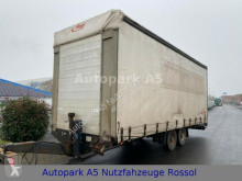 Fliegl tarp trailer TPS 100 Anhänger Pritsche + Plane Tandem