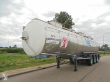 Van Hool 3-Axle Tank / Food-Lebensmittel / 3 Comp / 34.170 L semi-trailer used tanker