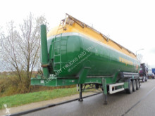 Feldbinder tanker trailer 3-Axle Silo / 57m3 / SAF Axles / NL Trailer / Bulk
