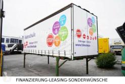 Equipamientos carrocería caja con lona Krone WP 73 LS4-06 BDF Wechselbrücke Schiebeplane