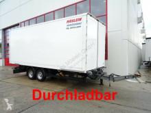 Pótkocsi Möslein Tandem- Koffer- Anhänger, Durchladbar használt furgon