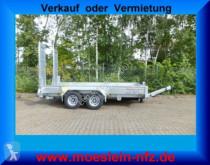 Möslein heavy equipment transport trailer Tandemtieflader, Feuerverzinkt