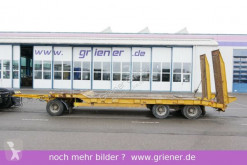 Schwarzmüller TÜ 30/100 / 8300 mm / 24 to nutzlast BLATT RAMPE trailer used heavy equipment transport