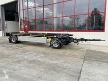 Hüffermann container trailer 2 Achs Kippbarer Abrollmulden- Anhänger-- nur 2