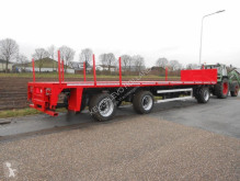 Flatbed semi-trailer 10m20 meesturende as