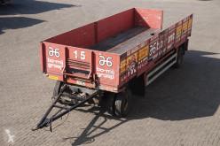 Jumbo flatbed trailer Aanhanger 2-assig / APK: 30-08-2020