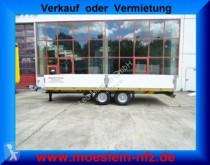 Pótkocsi Möslein 13 t Tandemtieflader használt gépszállító