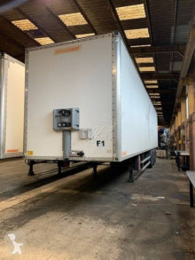 Fruehauf 3 essieux trailer used plywood box