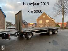 Gheysen et verpoort flatbed trailer open schamel aanhanger, bladvering, aansluiting meeneemheftruck