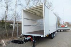 Pótkocsi Möslein Tandem- Koffer- Anhänger, Durchladbar-- Neufahr használt furgon