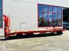 Müller-Mitteltal Anhänger Maschinentransporter 3 Achs Tiefladeranhänger gerader Ladefläche