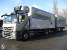 Mercedes 2544L KOMPLETTER ZUG trailer truck used refrigerated