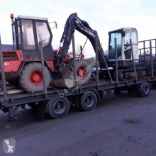 Krone ADP 22 trailer used heavy equipment transport