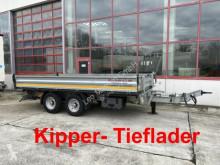 Remolque volquete Möslein 13 t Tandemkipper- Tieflader-- wenig Benutzt --