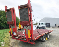 Castera FVR.02 PLATEAU FIXE trailer used heavy equipment transport