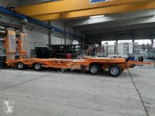 Müller-Mitteltal heavy equipment transport trailer 4 Achs Tieflader- Anhänger + Radmulden