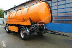 Maquinaria vial 2-Achs Haller 14m³ Saug u. Druck ADR/GGVS camión limpia fosas usado