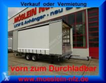 Reboque Möslein Tandem- Planenanhänger, Durchladen, LaSi Zertif caixa aberta com lona usado