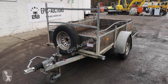 SOLIDE trailer used dropside flatbed