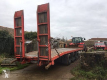 Fruehauf heavy equipment transport trailer porte-engin