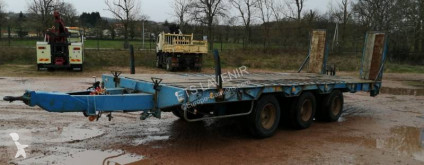 Demico heavy equipment transport trailer