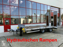 Möslein heavy equipment transport trailer 21 t Tandemtieflader, Luftgefedert, NEU