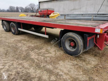 Fruehauf straw carrier flatbed trailer