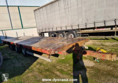 Leciñena straw carrier flatbed trailer