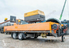Obermaier dropside flatbed trailer Verkehrssicherung SDAH tieflader normal