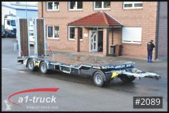 Schwarzmüller heavy equipment transport trailer 3-achs Tiefladeanhänger mechanischen Rampen