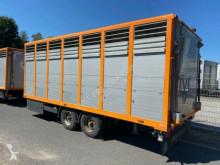 Menke Tandem Einstock Vollalu Durchladen trailer used livestock trailer