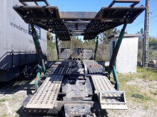 Aanhanger autotransporter Lohr C3L52PB