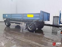 Stas Aanhangwagen trailer used flatbed