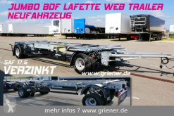 Chassis trailer WFZ/W 18 / JUMBO LAFETTE BDF 7,15/7,45 /17,5 SAF