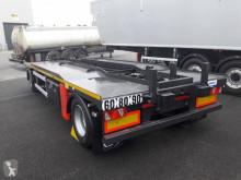AJK container trailer REMORQUE AJK 2 ESSIEUX PISTES-LARGES 19T TYPE AHT565