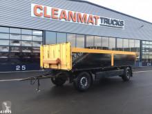 Krone AZP 18 2-assige aanhangwagen trailer used flatbed