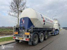 Semi remorque citerne Feldbinder 40M3 / Silo / EUT 40-3 / NL / APK-TÜV