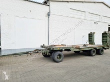 Przyczepa do transportu sprzętów ciężkich 3-Achs Tiefladeanhänger 3-Achs Tiefladeanhänger, Ex-Bundeswehr, 24 to GG möglich Oldtimer