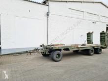 3-Achs Tiefladeanhänger 3-Achs Tiefladeanhänger, Ex-Bundeswehr trailer used heavy equipment transport