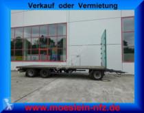 Reboque Krone 3 Achs Jumbo- Plattform Anhänger estrado / caixa aberta usado