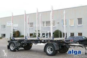 Aanhanger houtvrachtwagen BEFA, Kurzholz, Rungensystem ECCO, EXTE, Luft