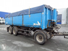 Stas benne cerealiere trailer used cereal tipper