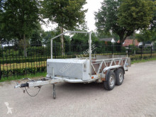 Remolque koop sluis paardentrailer/veetrailer remolque para caballos usado
