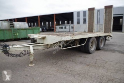 Demico Plateau 2 Essieux centraux trailer used flatbed