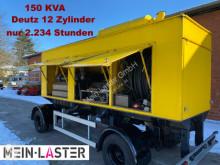 Material de obra Deutz Strüver Deutz Generator Stromaggregat 150 KVA grupo electrógeno usado