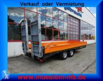 全挂车 机械设备运输车 Möslein Tandemtieflader mit breiten RampenNeufahrzeug