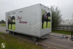 无公告全挂车 Ponytrailer schamelwagen € 9.999,-- 马匹运输车 二手